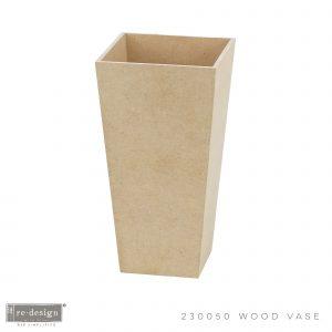 "*Limited Edition* Home Décor MDF Vase - 1 pc, 10""x5""x5"""