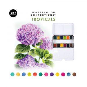 Watercolor Confections: Tropicals