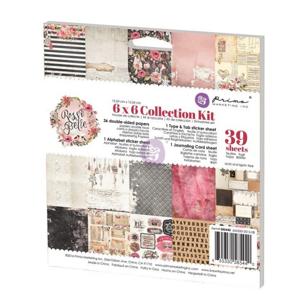6x6 Collection Kit - Rossibelle