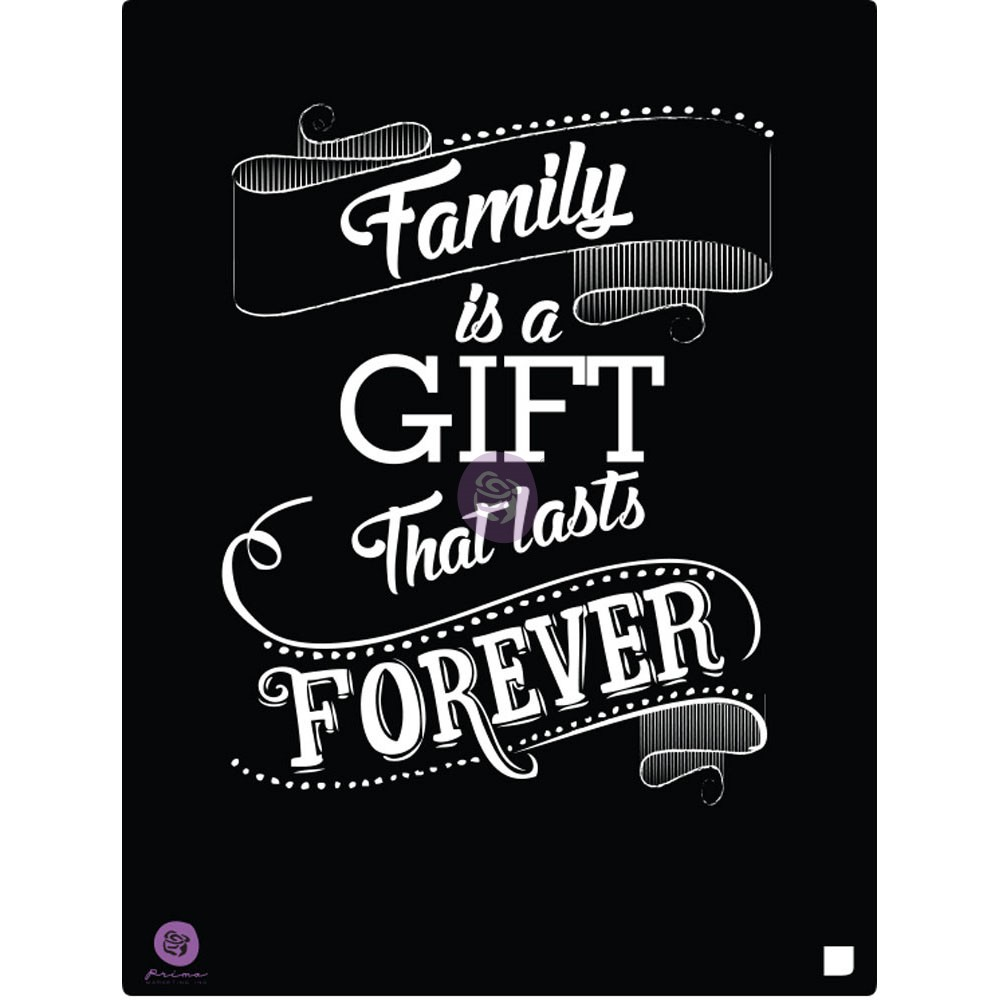 8x10 Stencil - Family Is A Gift