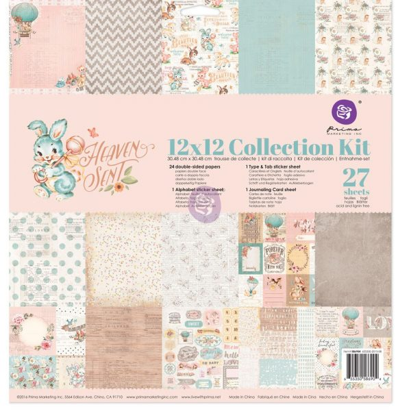 12x12 Collection Kit - Heaven Sent