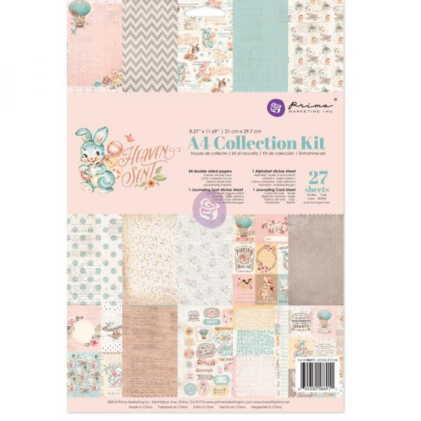A4 Collection Kit - Heaven Sent