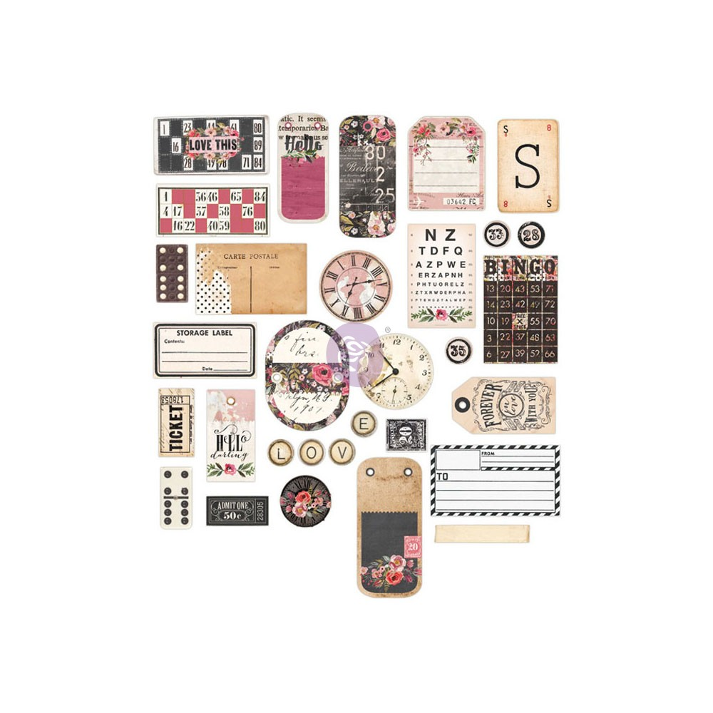 Chipboard and More - Rossibelle