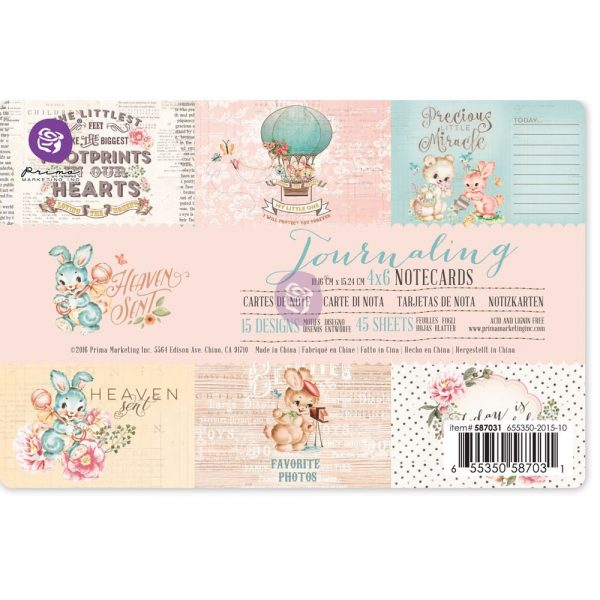 4x6 Journaling Cards - Heaven Sent