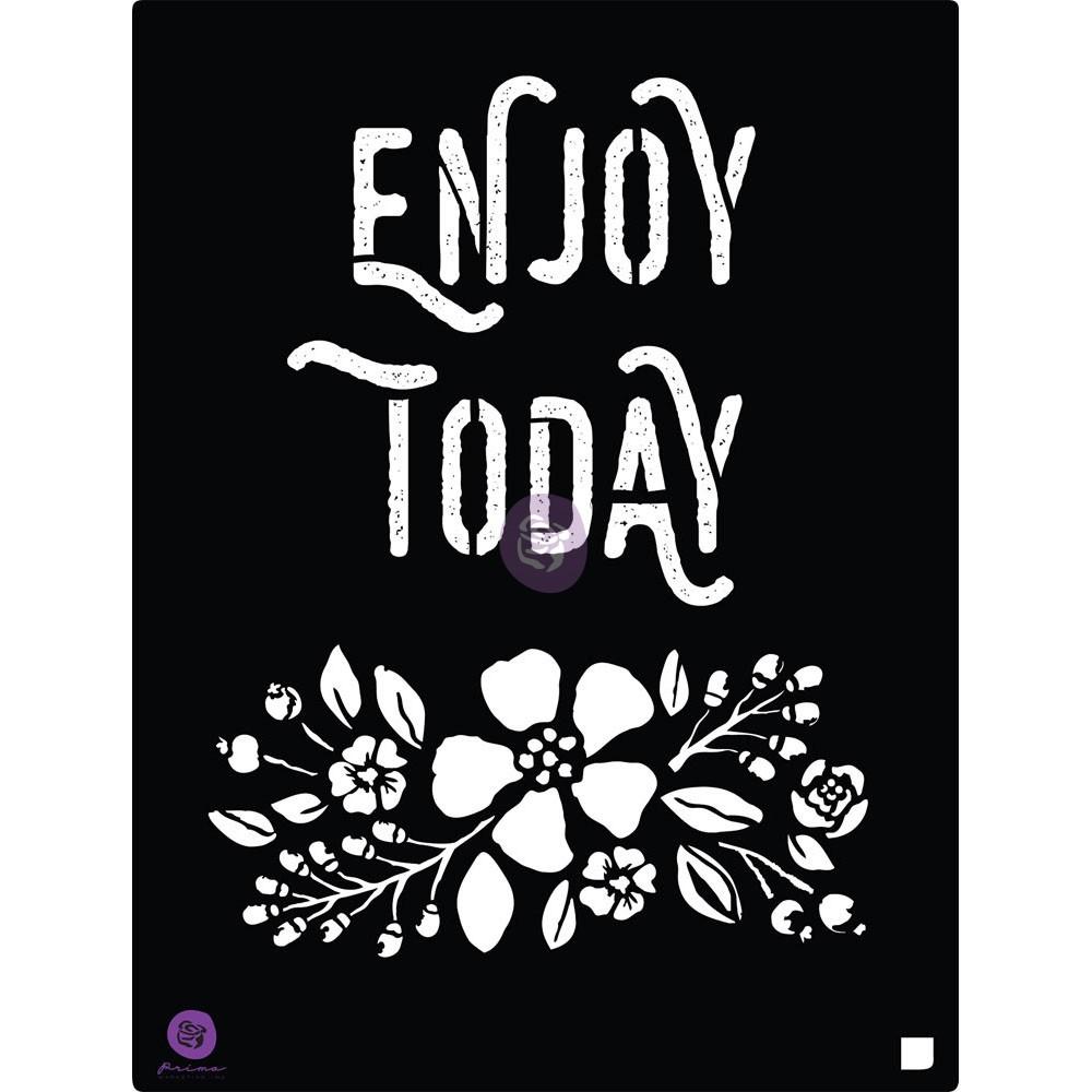8x10 Stencil - Enjoy
