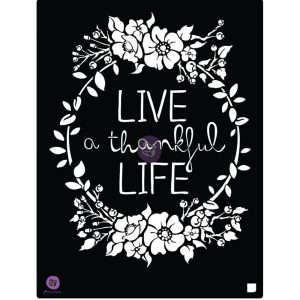 8x10 Stencil - Live Life