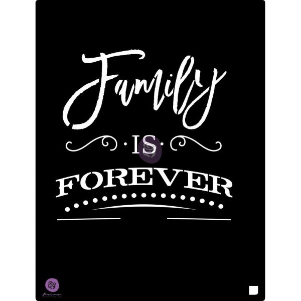 9.5x12 Stencil: Family is....