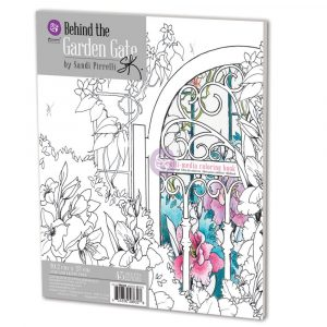 SP Coloring Book - Behind The Garden Gate