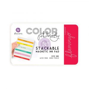 Color Philosophy Stackable magnetic ink pad- Flamingo