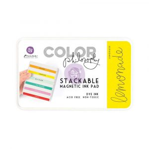Color Philosophy Stackable magnetic ink pad- Lemonade