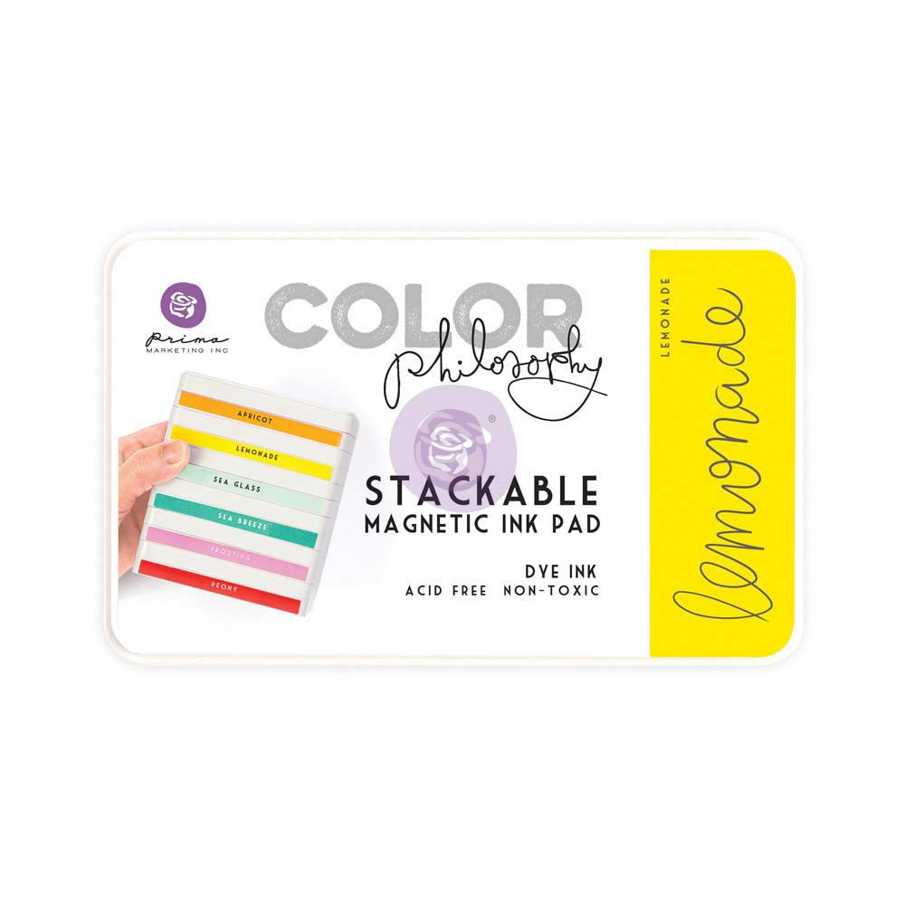 Color Philosophy Stackable magnetic ink pad- Lemonade
