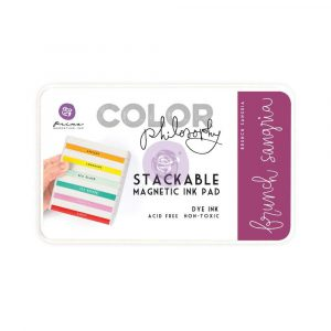 Color Philosophy Stackable magnetic ink pad- Brunch Sangria