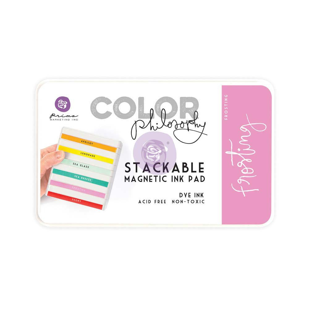 Color Philosophy Stackable magnetic ink pad- Frosting