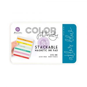 Color Philosophy Stackable magnetic ink pad- Atlas Blue