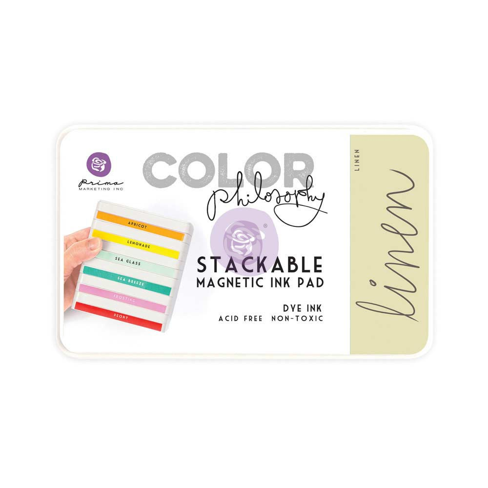 Color Philosophy Stackable magnetic ink pad- Linen