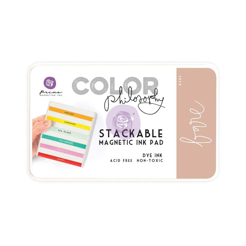 Color Philosophy Stackable magnetic ink pad- Bare