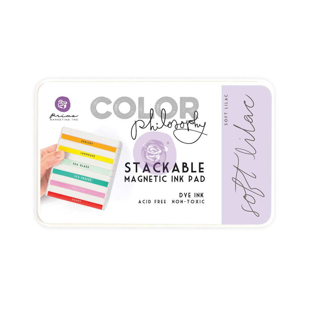 Color Philosophy Stackable magnetic ink pad- Soft Lilac