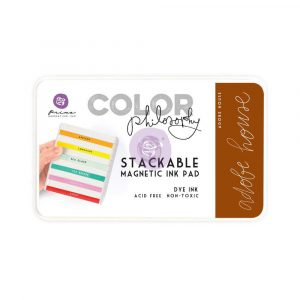 Color Philosophy Stackable magnetic ink pad- Adobe House