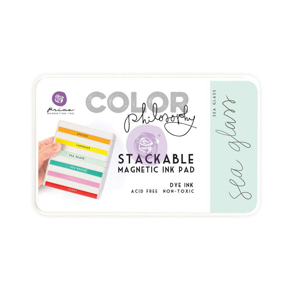 Color Philosophy Stackable magnetic ink pady- Sea Glass