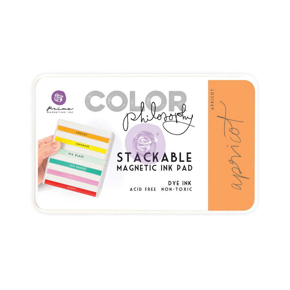 Color Philosophy Stackable magnetic ink pad- Apricot