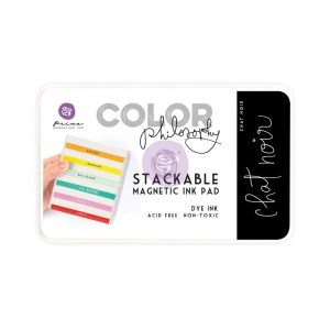 Color Philosophy Stackable magnetic ink pad- Chat Noir