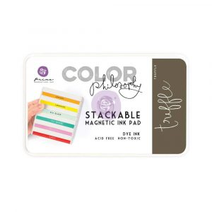 Color Philosophy Stackable magnetic ink pad- Truffle