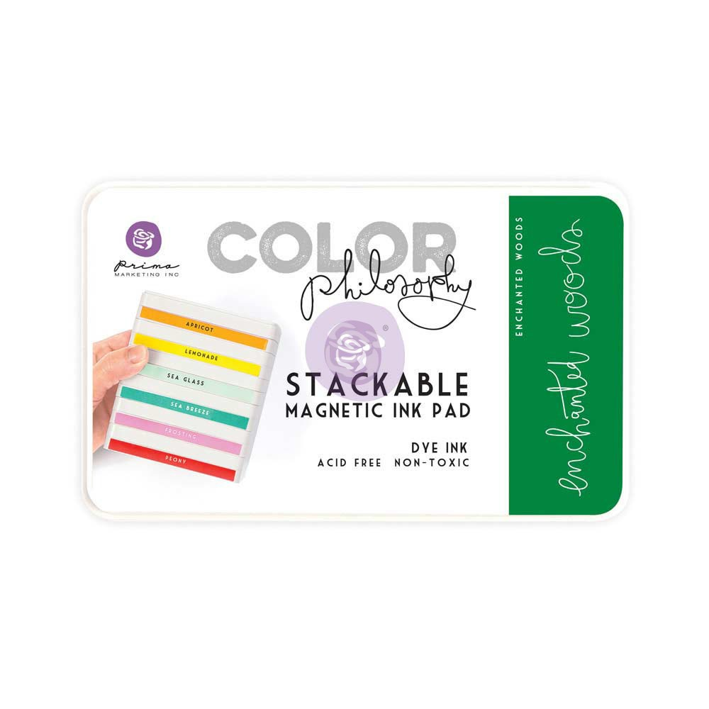 Color Philosophy Stackable magnetic ink pad- Enchanted Woods