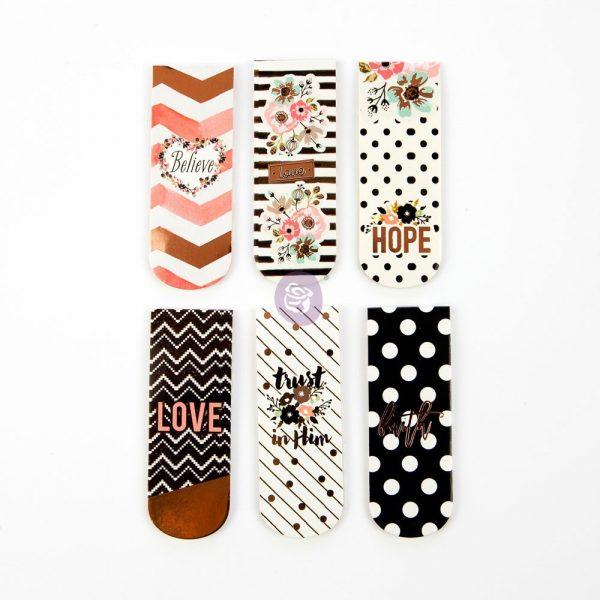 Love Faith Scrap -Magnet Bookmarks