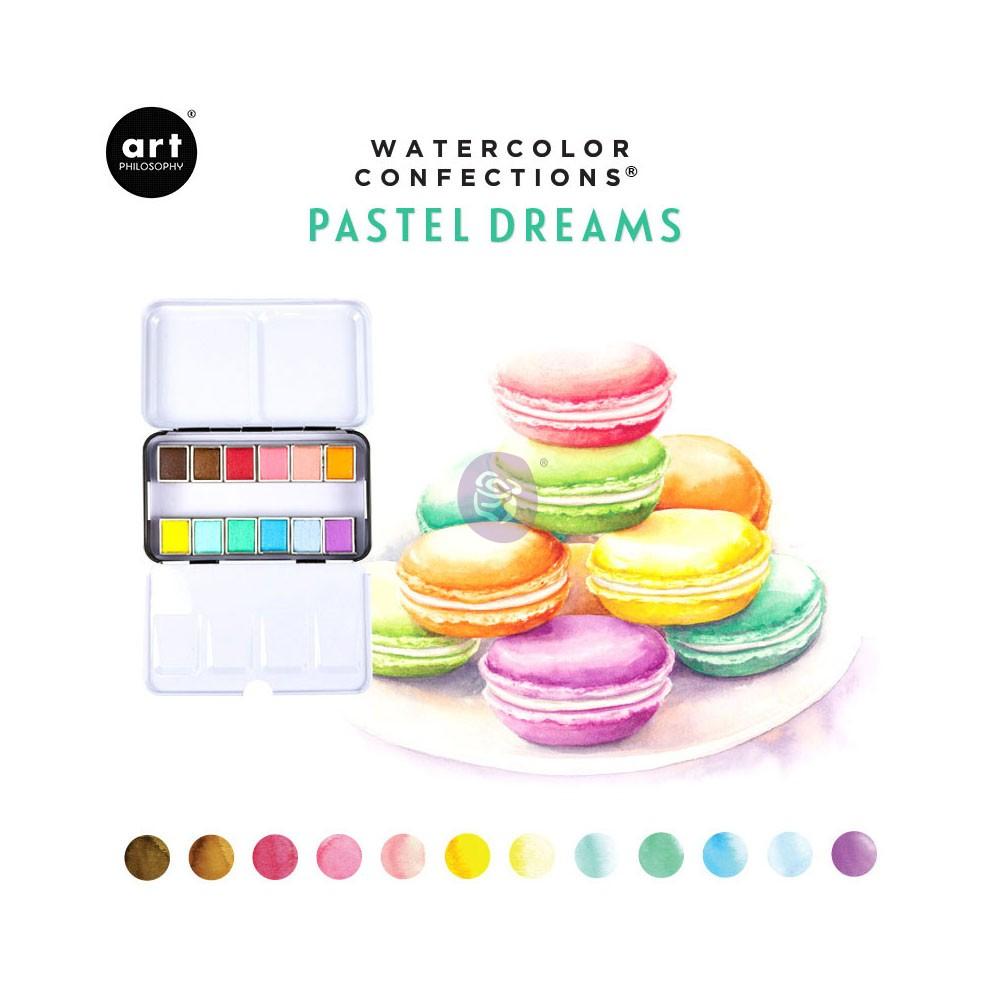 Watercolor Confections: Pastel Dreams