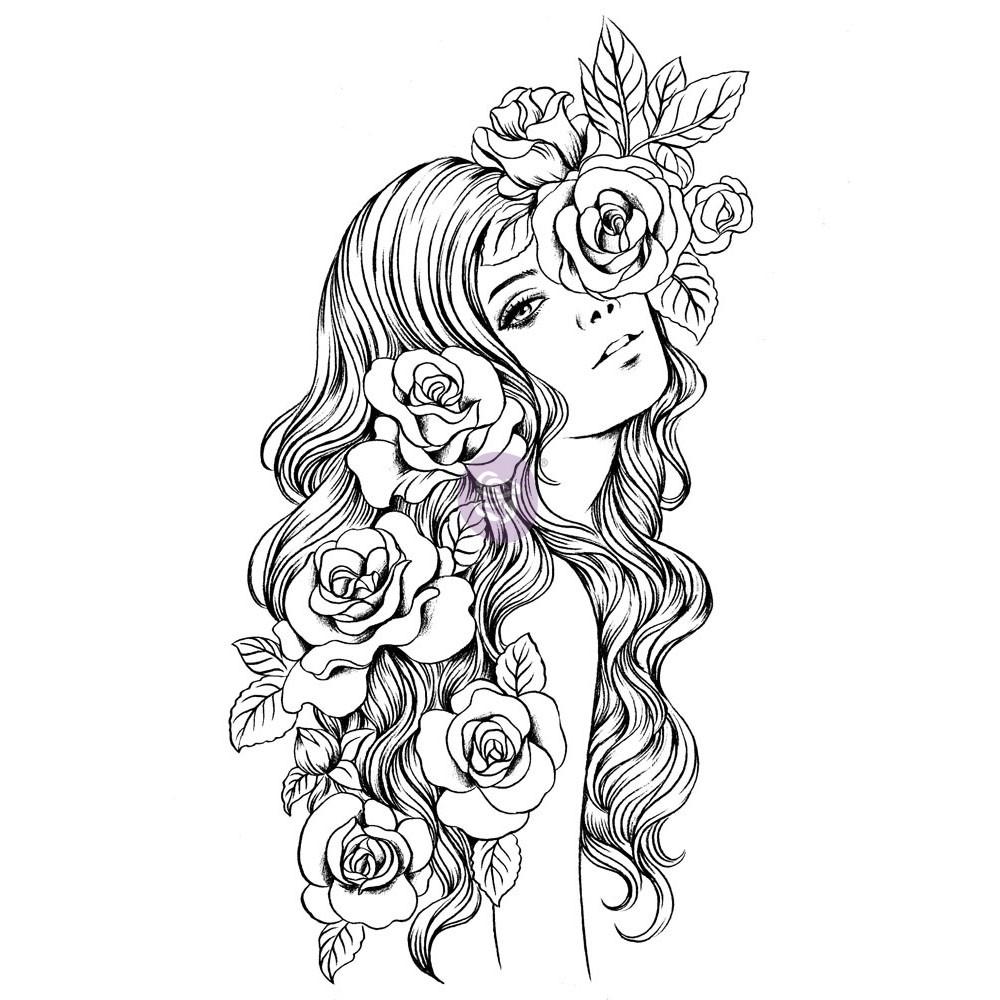 Prima Princesses Stamp - Olivia