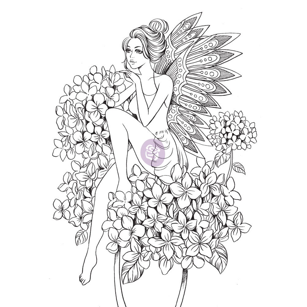 Prima Princesses Stamp - Angelica