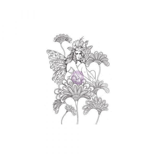 Cling Stamps-Prima Princesses-Anastasia