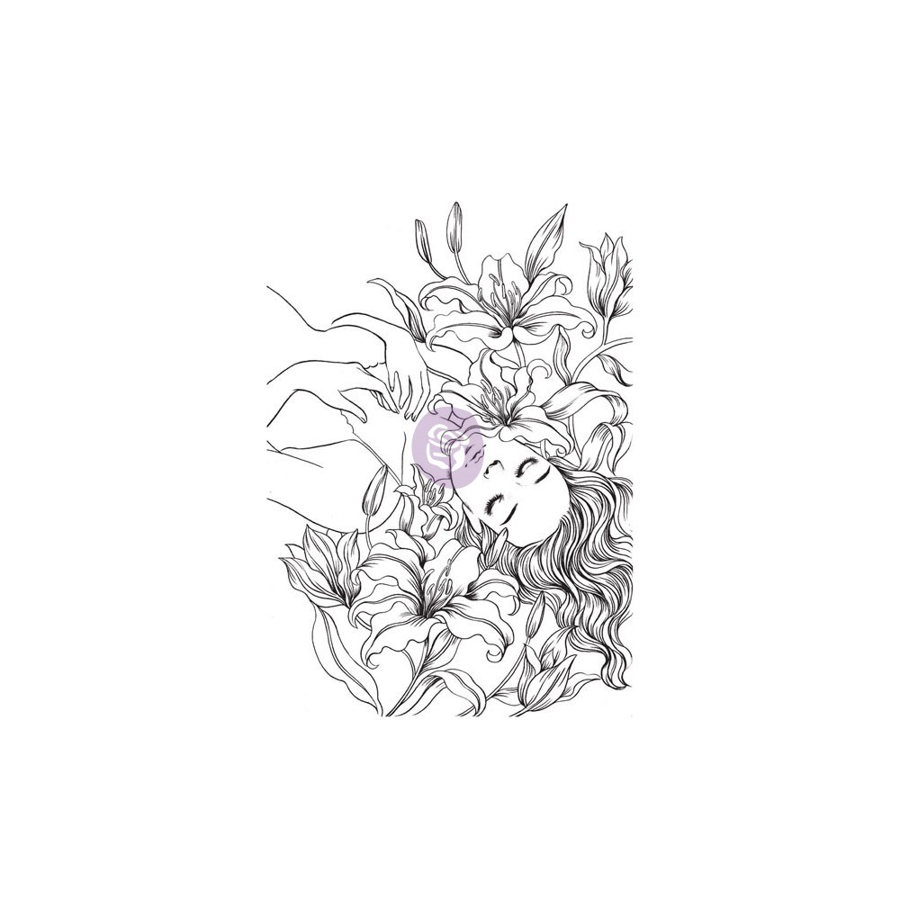 Cling Stamps-Prima Princesses-Victoria