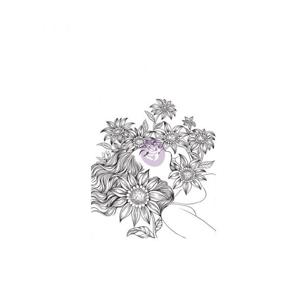 Cling Stamps-Prima Princesses-Katherine