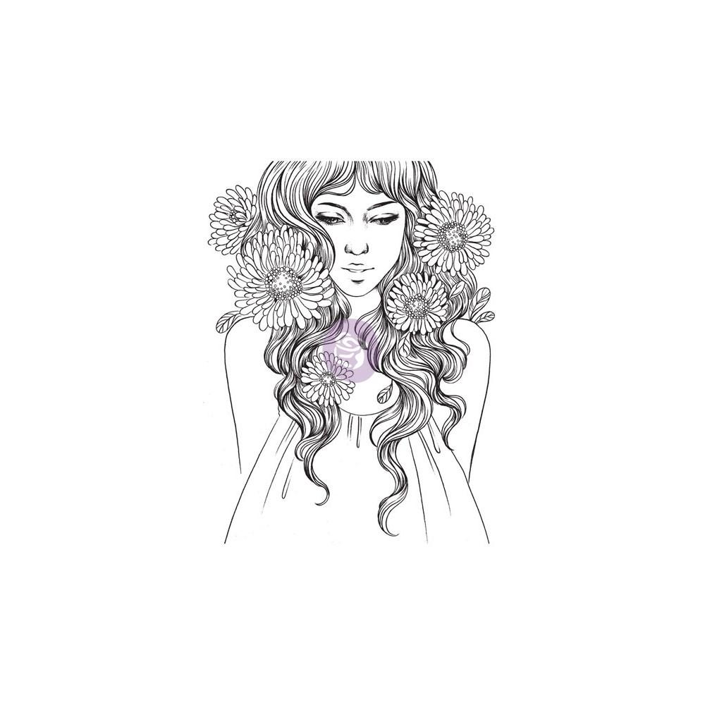 Cling Stamps-Prima Princesses-Grace
