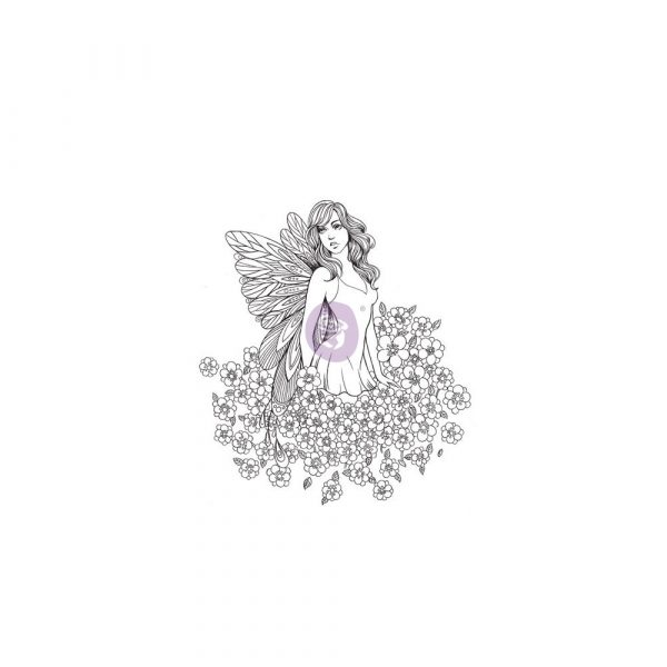Cling Stamps-Prima Princesses-Lauren
