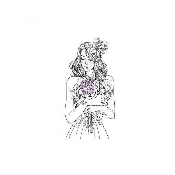 Cling Stamps-Prima Princesses-Gabrielle