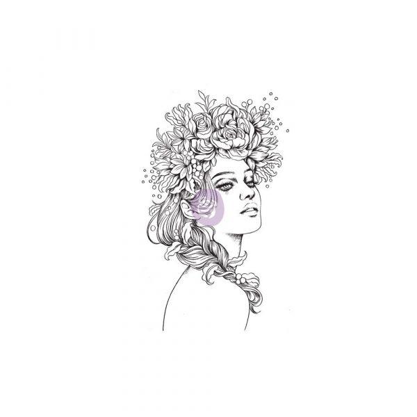 Cling Stamps-Prima Princesses-Sydney