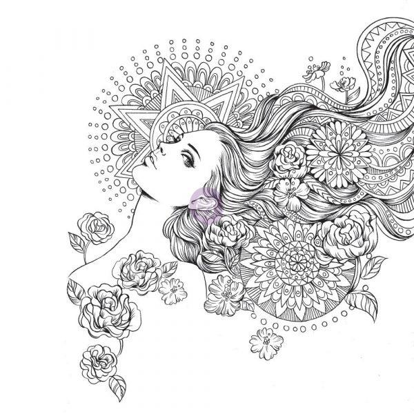 TBD   Prima Princess Stamp - G