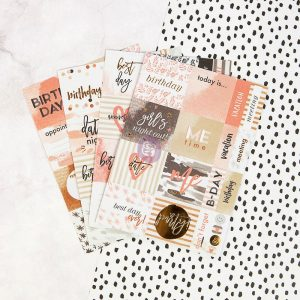 My Prima Planner Embellishments - paper Stickers