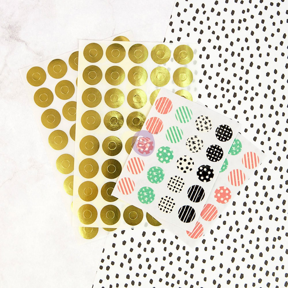 My Prima Planner Embellishments - Hole Reinforcers