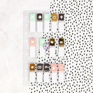 My Prima Planner Embellishments - Clear Tabs