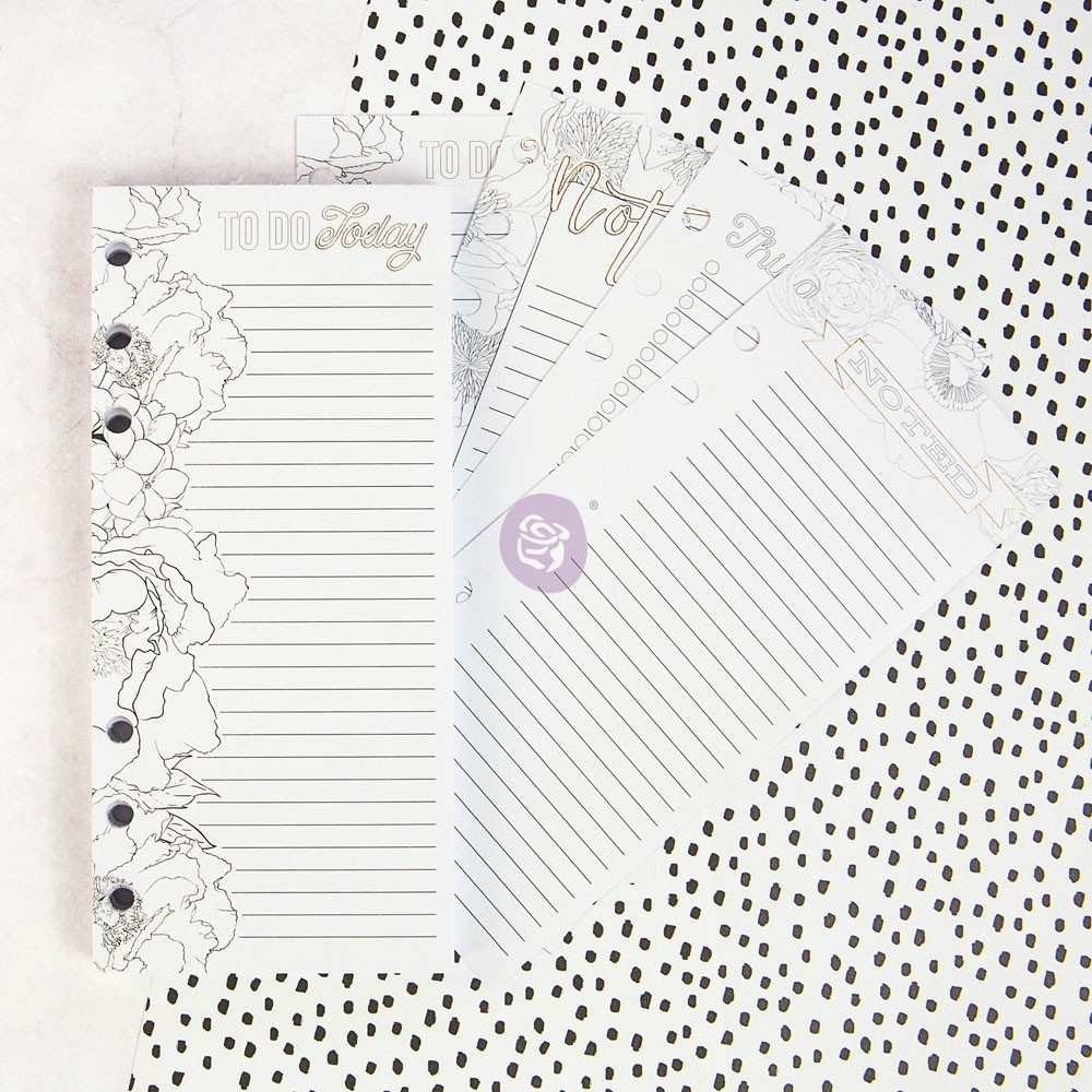 My Prima Planner Embellishments - Coloring List Pad
