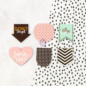 My Prima Planner Embellishments - Magnetic Page Markers