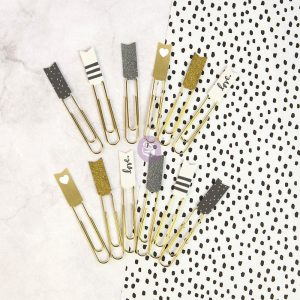 My Prima Planner Embellishments - Banner Paper Clips