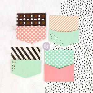 My Prima Planner Embellishments - Paper Pockets