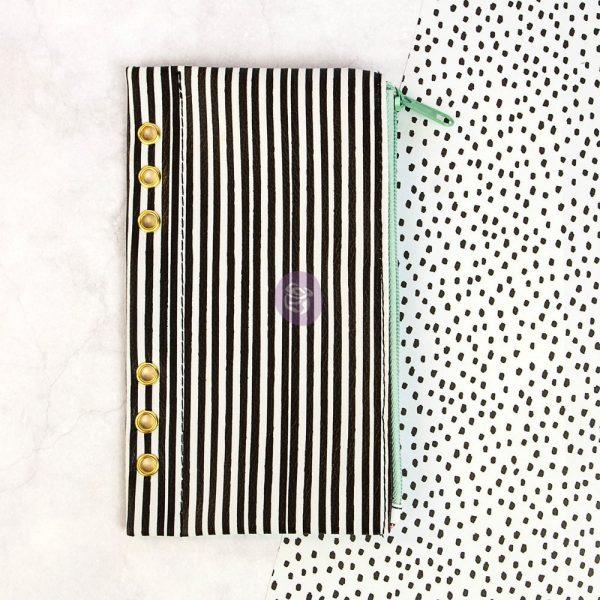 "My Prima Planner Embellishments - Pencil Bag - ""Cute Stripes"""