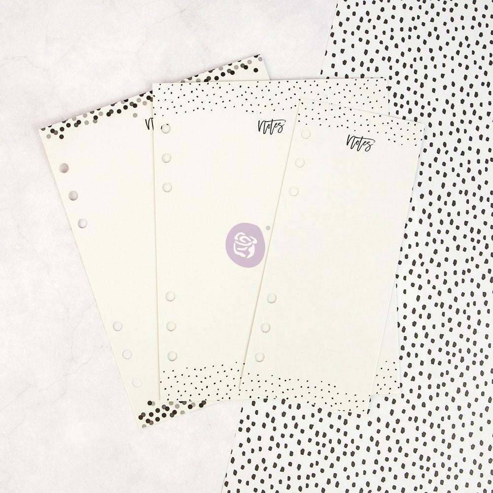 My Prima Planner Embellishments - Dry Erase Boards - Black N White