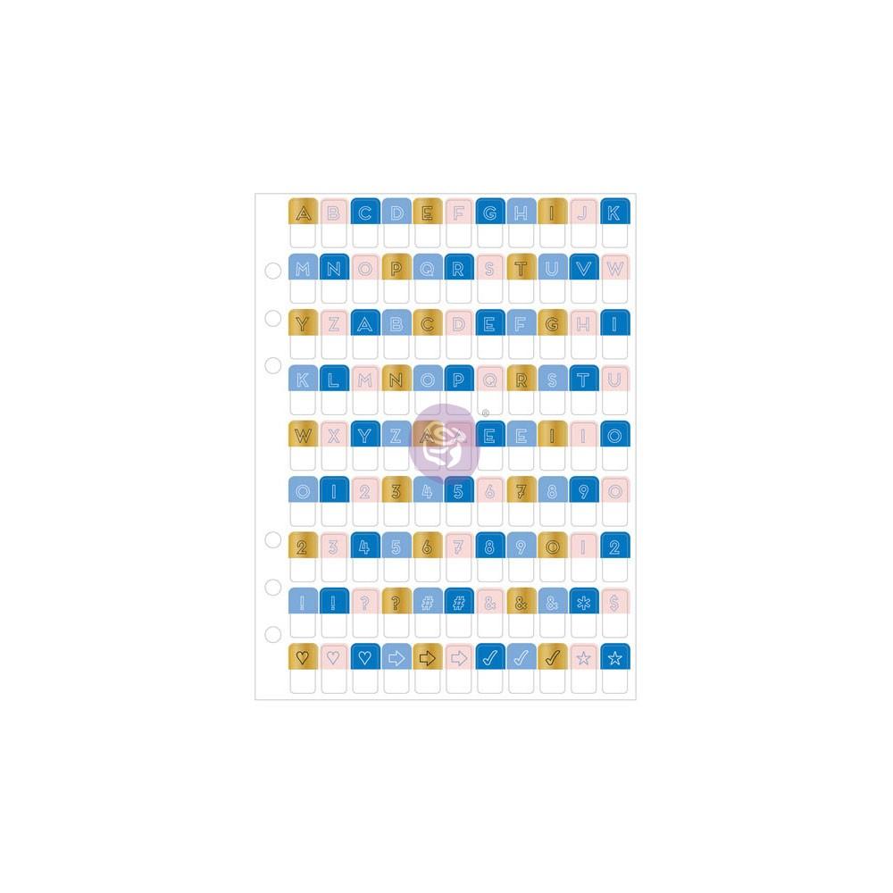 My Prima Planner Embellishments - Alpha Tabs 1