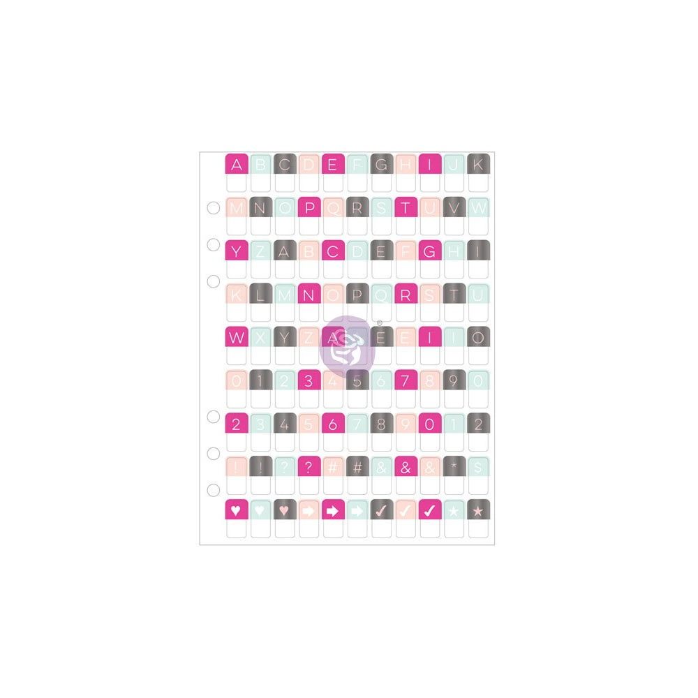 My Prima Planner Embellishments - Alpha Tabs 3